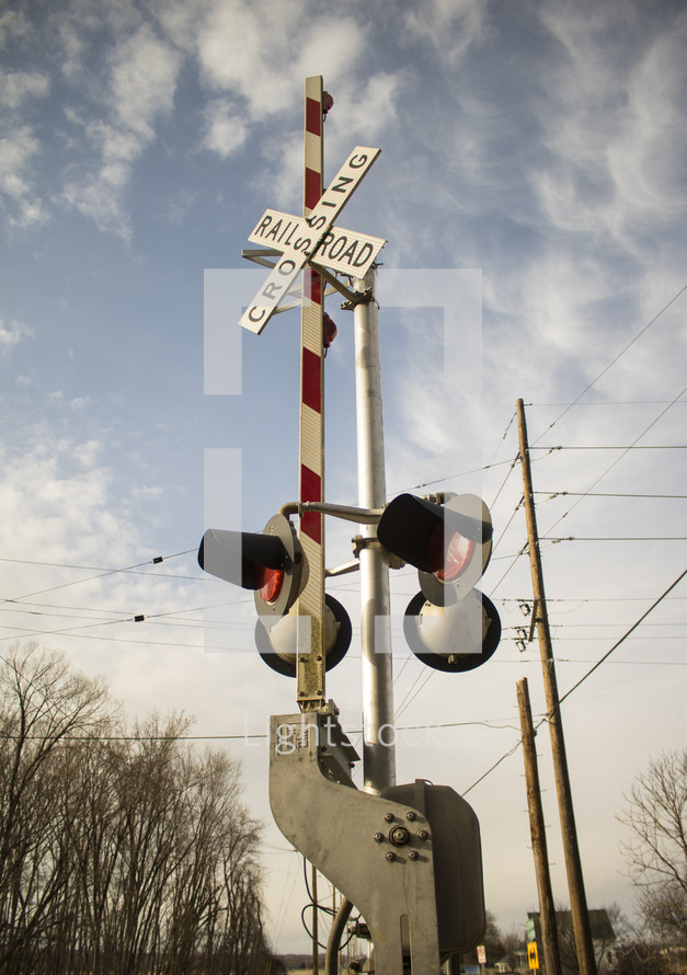 train crossing gate