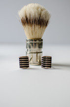 brush and cuff links