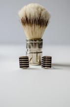 brush and cuff links