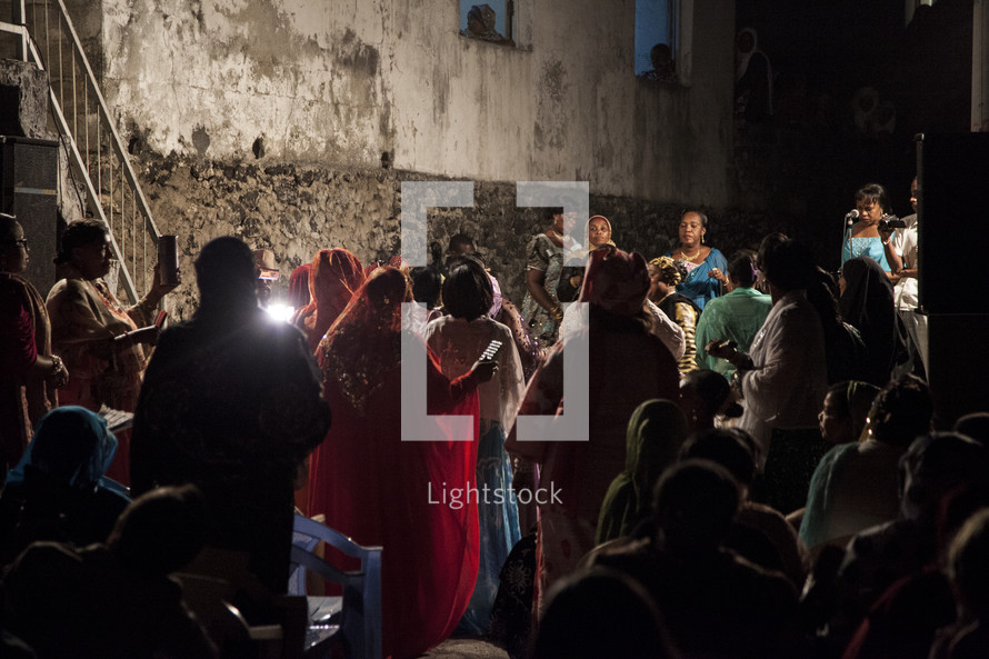 African Wedding celebration