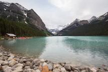 still mountain lake water