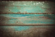 blue weathered wood boards
