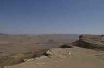 Western edge of Ramon Crater