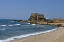 Mediterranean Sea at Caesarea