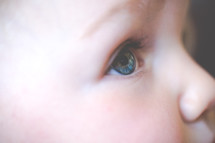 eye of an innocent infant
