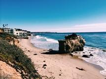 stretch of beach
