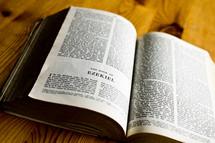 Open Bible book of Ezekiel