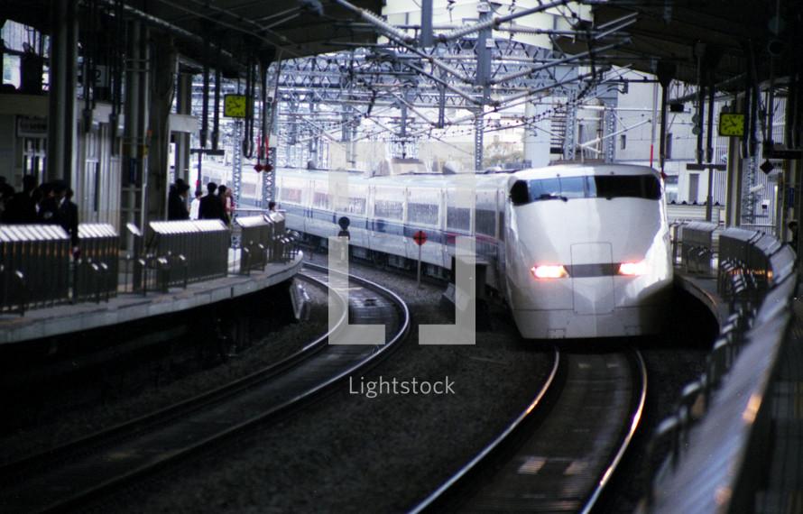 Japanese commuter train