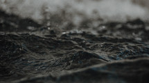choppy water surface
