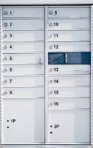 mail box lockers