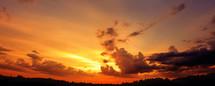 Clouds at sunrise.