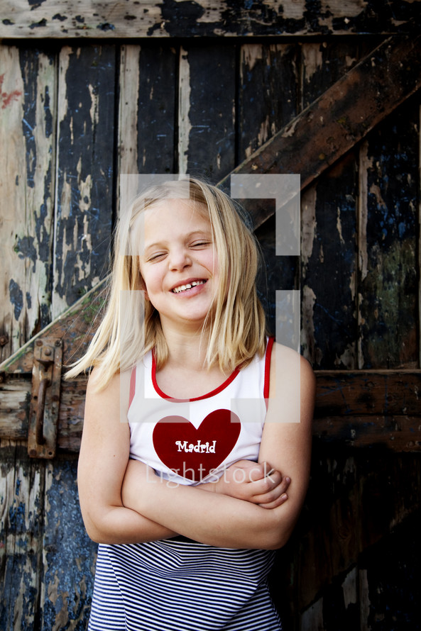 smiling child of God
