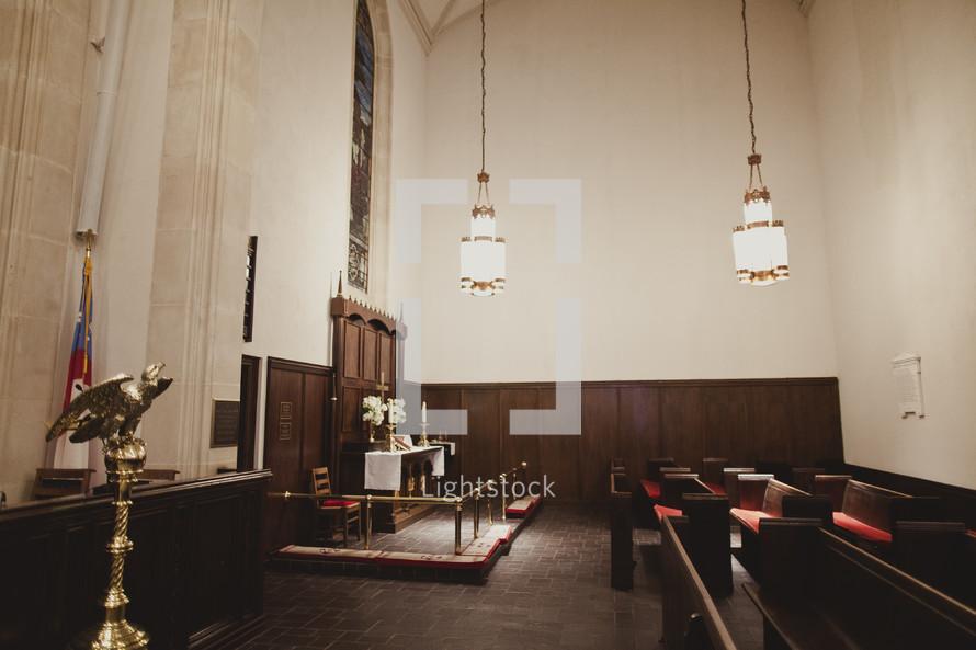 A small intimate sanctuary
