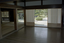 empty room in a Japanese house
