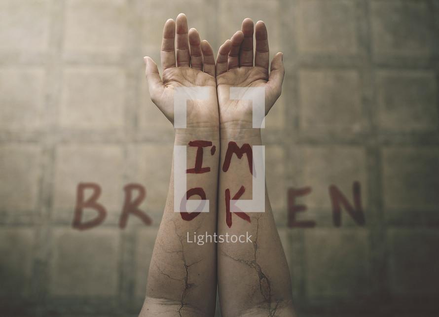 I'm broken on wrists
