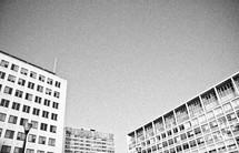 windows on buildings