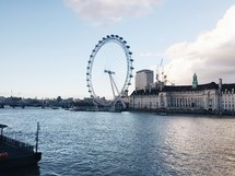 ferries wheel in London