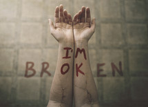 I'm broken on wrists