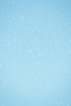 Snowy blue background.