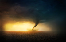 tornado, funnel cloud, twister, natural disaster, storm, destruction, nature, power, outdoors, spring, weather advisory, weather