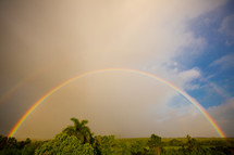 double rainbow in Ethiopia