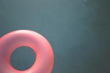 pink pool float