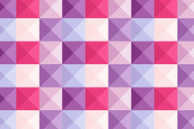 pink and purple checkered pattern