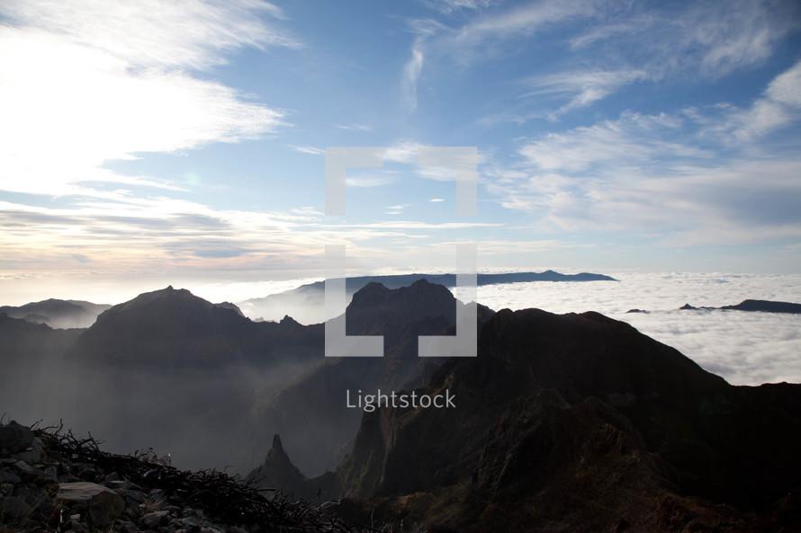 mountain range in Madeira