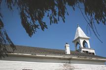 rural chapel steeple
