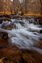 flowing creek