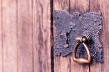 latch on a door