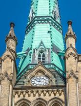 ornate historic clock tower