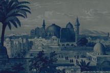 painting of Jerusalem