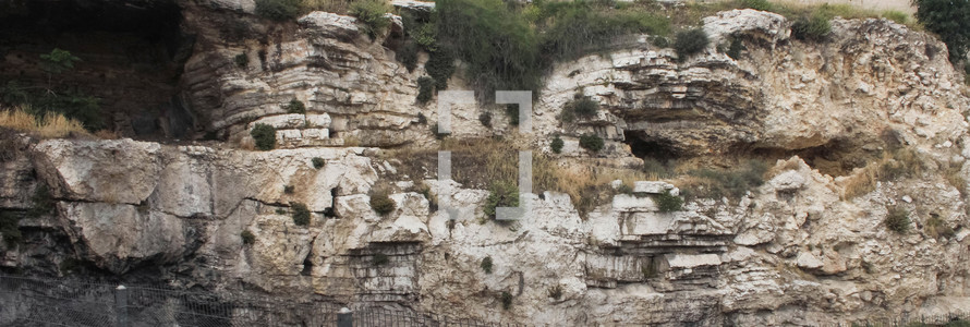 Possible site of Golgotha, Place of the Skull