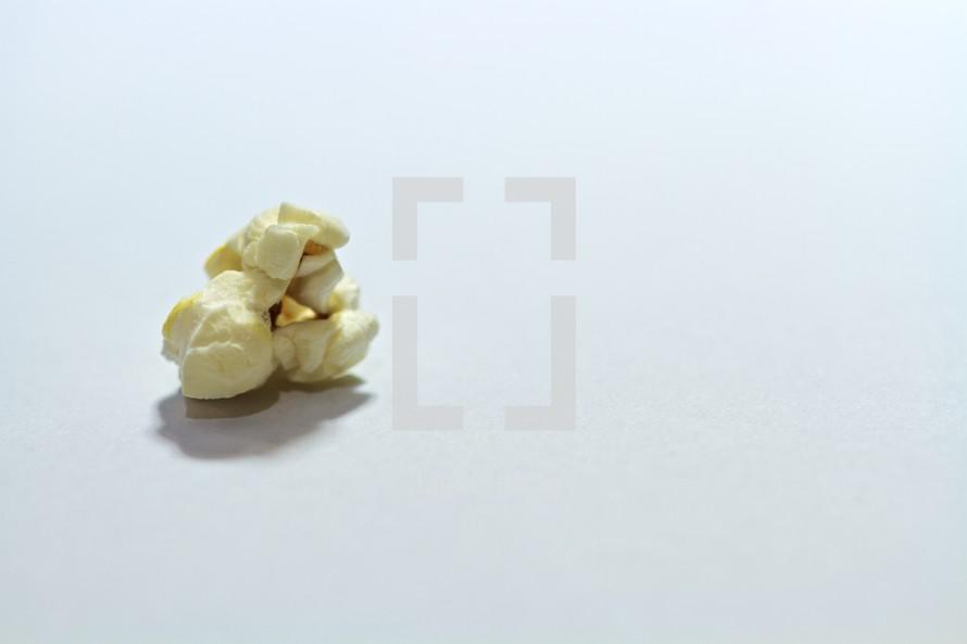 A kernel of popcorn