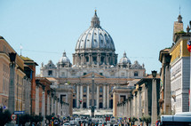 St Peters Basilica in Rome