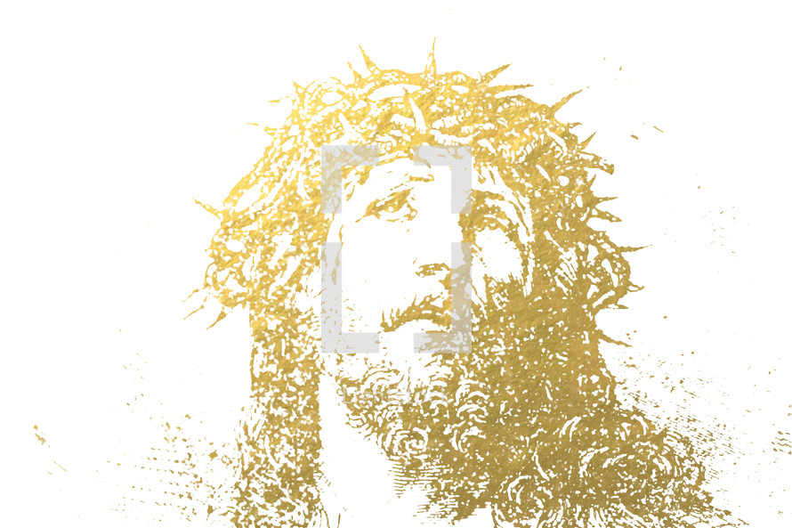 face of Christ sketch