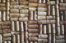 a cork board, literally