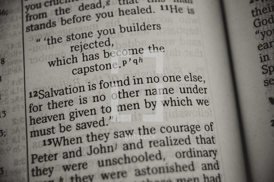 capstone - Bible verse