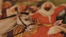 Palm Sunday painting of Jesus