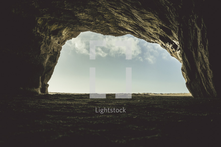 Cave | Dark | Light | Tomb | Resurrection