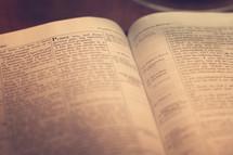 Bible open to 1 Corinthians.