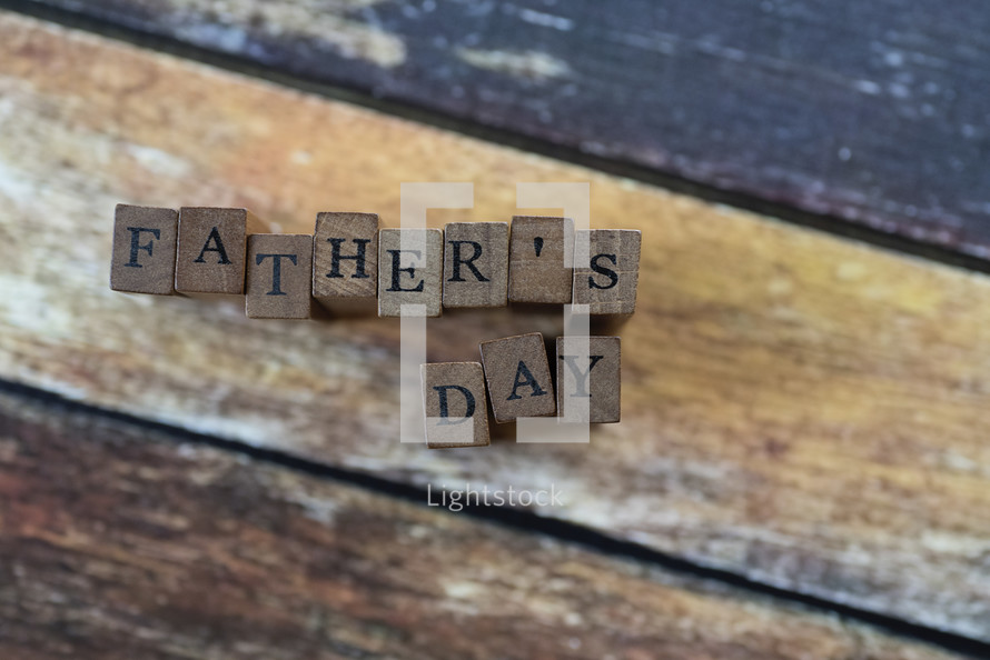 father's day blocks