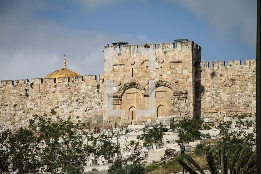 Eastern Gate in Jerusalem