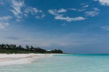 shoreline in the Bahamas