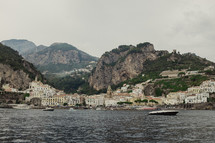 view of homes along a coastline in Italy