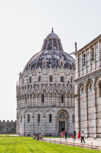 orante dome near the Leaning Tower of Pisa