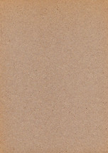 Blank brown sheet of old paper. Empty background with vintage texture.