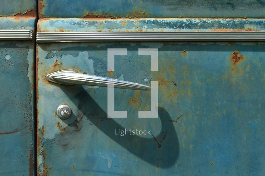 old car door handle