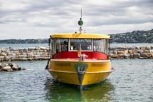water taxi in Switzerland